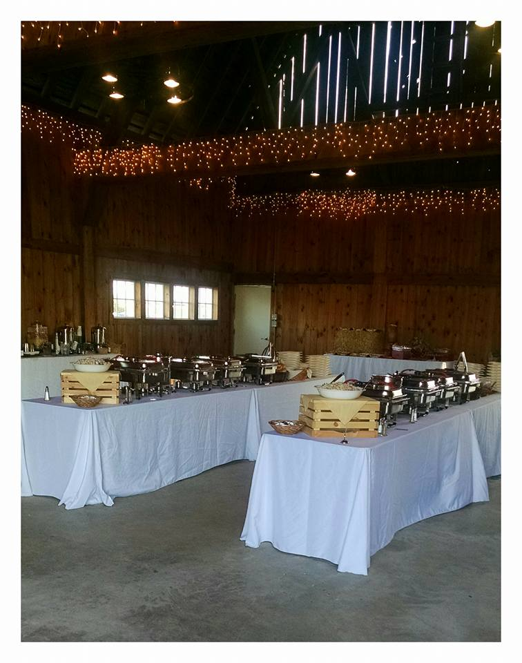 Farm view resort wedding barn